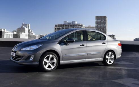 En annen spesiell Peugeot-modell er 408, som ikke selges her i landet og som er utviklet for, og produseres i, Kina. Foto: Peugeot