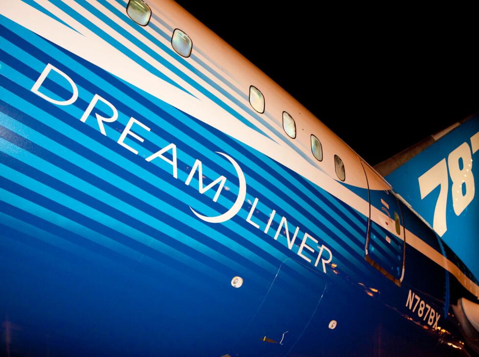 Den britiske flyoperatøren har hatt besøk av Dreamliner i Manchester tidligere i april. Foto: Thomson
