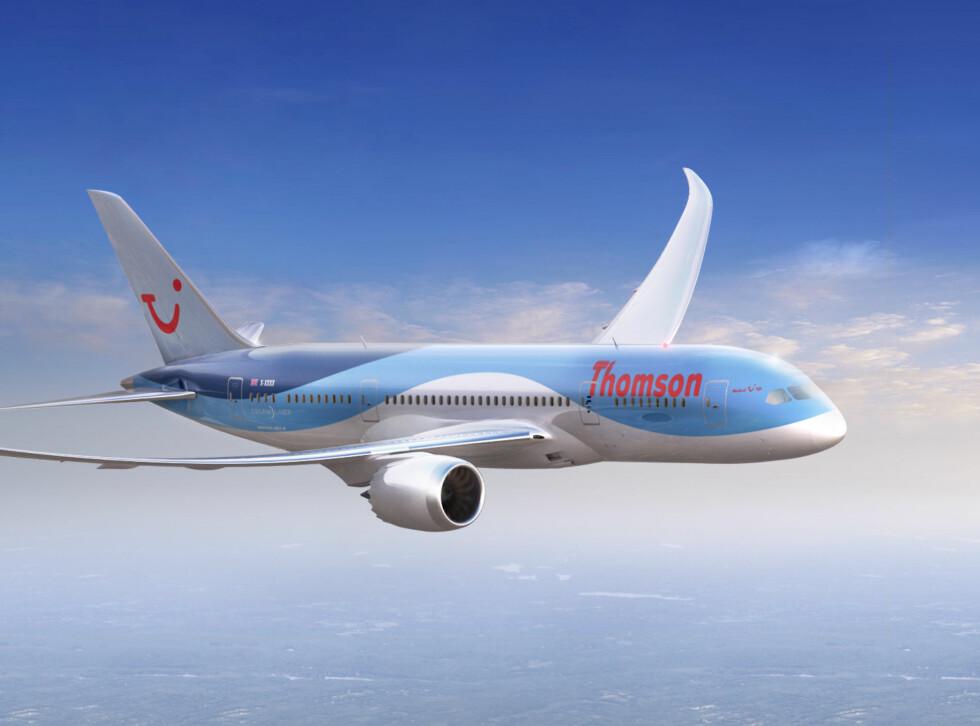 Dreamliner i Thomson-drakt, og dette venter Star Tour-passasjerer fra vinteren 2013. Foto: Thomson