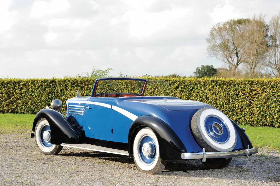 1938 Maybach Zeppelin DS8 Roadster: ¤100.000-¤120.000 Foto: Fluid Images/RM Auctions
