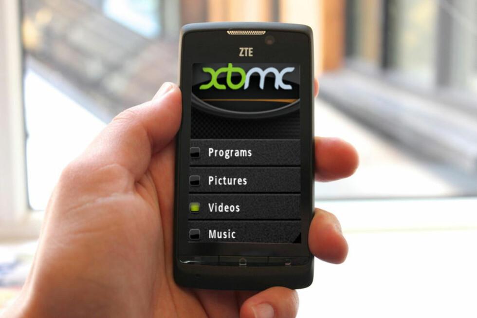 Det populære XBMC kommer til Android. Foto: DinSide