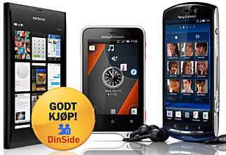 Billige mobiler til under 2.000 kroner