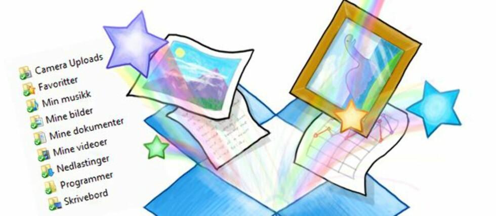 Dropbox er blant de mest populære nettlagringstjenestene. Nå dobles kapasiteten uten økning i pris.