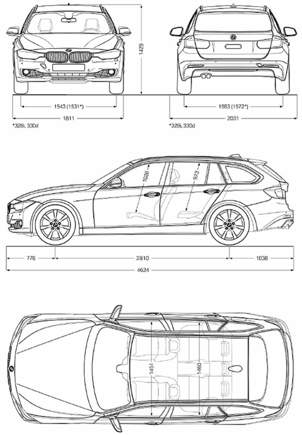 BMW 3-serie Touring prøvekjørt