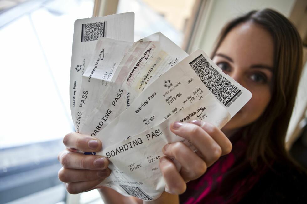 FLYR DU MYE MED NORWEGIAN? I dag lanserte flyselskapet en ny app som samler alle reisedokumentene dine. Passet må du derimot huske å ta med selv. Foto: Per Ervland