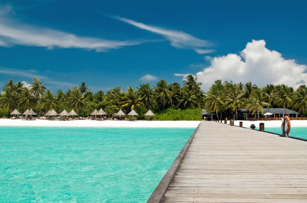 Maldivene har blitt LITT billigere for turister. Foto: Alloverpress