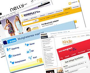 image: Komplett og Amazon mest populære