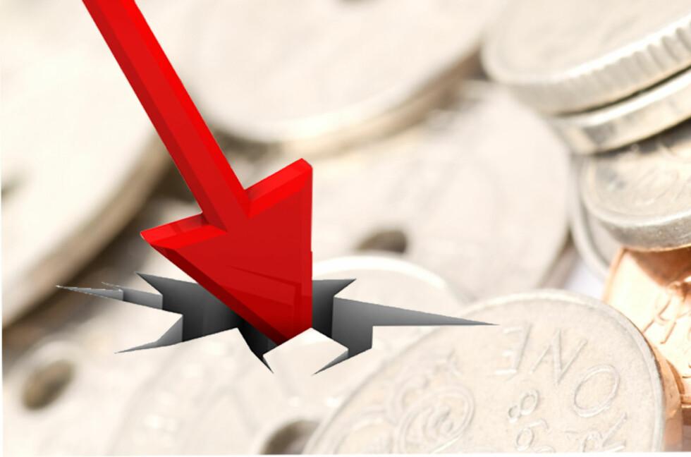 Forsinkelsesrenten går ned fra 1. juli, og er dermed på sitt laveste siden 2009.