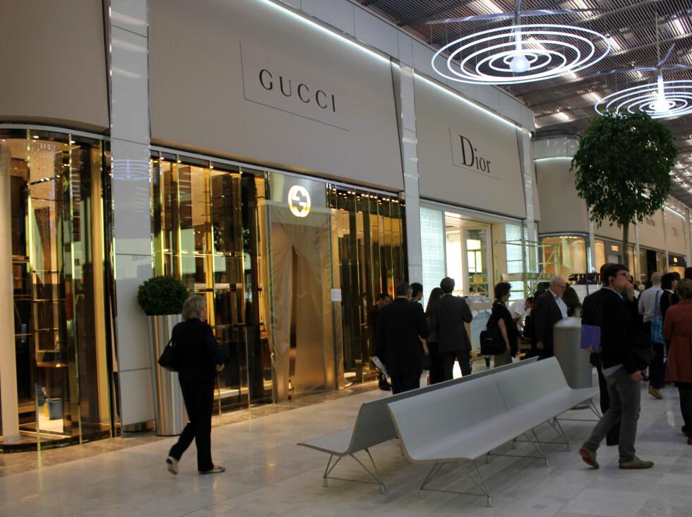 Gucci og Dior ... Foto: Silje Ulveseth