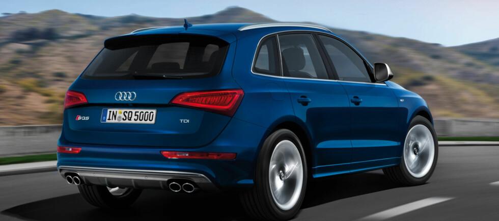 SUV'en Audi Q5 kommer nå i S-versjon. Under panseret sitter det en monsterdiesel. Foto: Produsenten