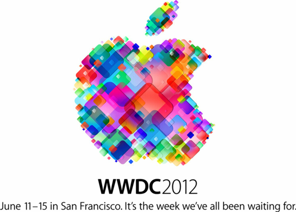 Eplet består av mange små ikoner, men minner også om formfaktoren på Apple TV.