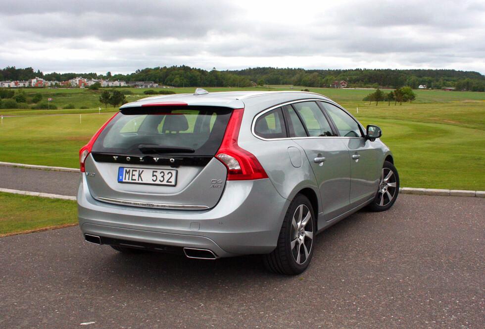 2.PLASS: Volvo S60/V60 viser at svenskene har fått orden på kvaliteten. Foto: KNUT MOBERG