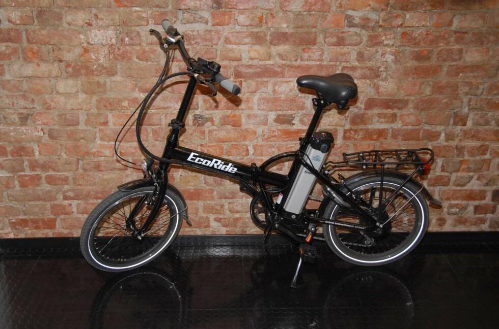 Sykkelen klar til bruk Foto: Brynjulf Blix