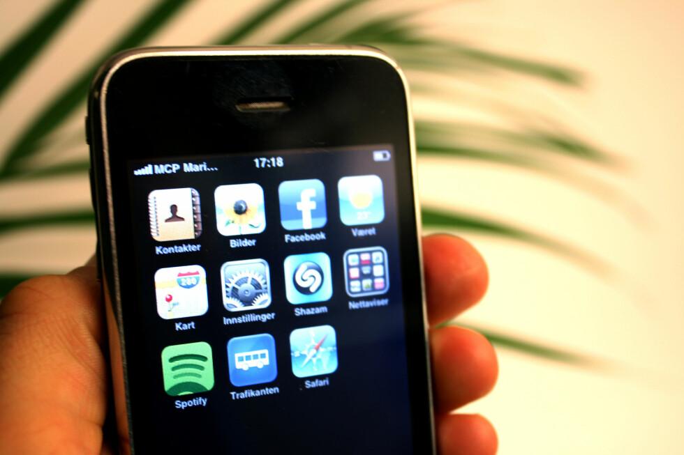 Dukker MCP opp på mobilskjermen din på tur med danskebåten eller andre ferger eller skip, blir det ikke billig å bruke den. Datatrafikken koster nemlig over 100 kroner per megabyte. Foto: Kim Jansson