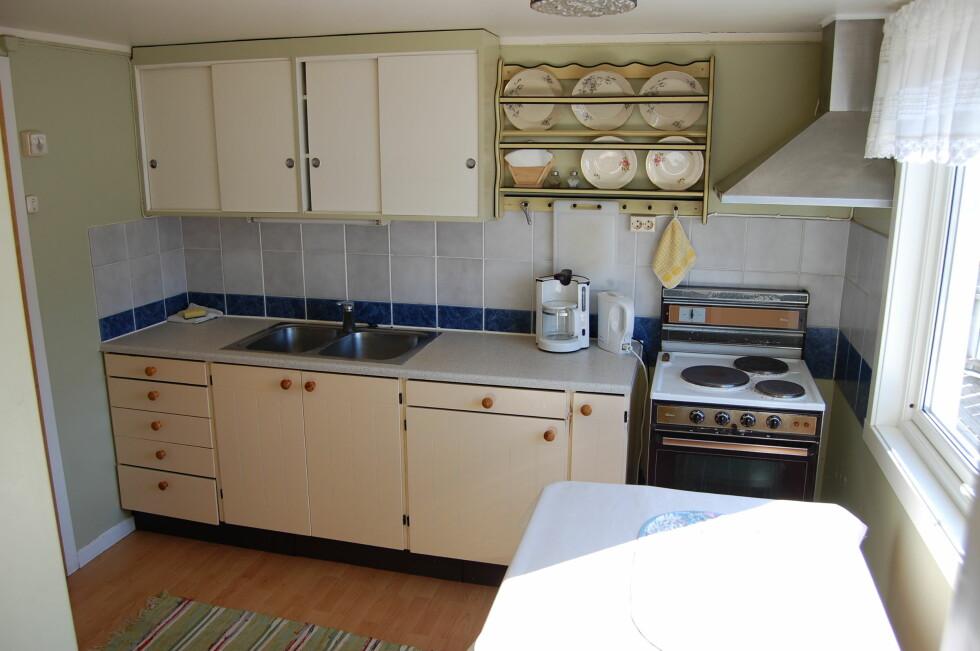 Rent, ryddig og ingen ting som tar oppmerksomheten fra boligen. Foto: Eie Eiendomsmegling