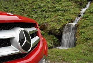 Prøvekjørt: Nye Mercedes-Benz GLK