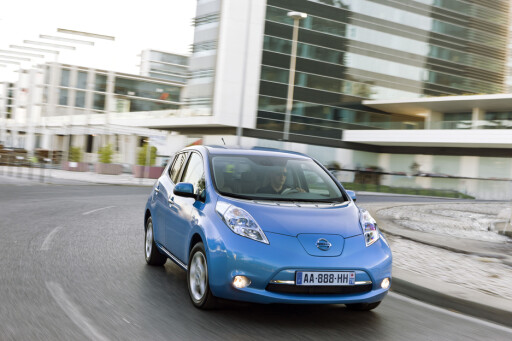 Nissan Leaf er den mest solgte elbilen, på en 16.-plass totalt