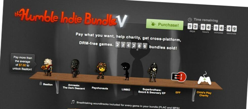 Denne utgaven av Humble Indie Bundle er den beste til nå, mener vi. Alle spill har metascore på 85 eller mer.