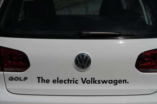 image: Kommer: Elektrisk VW Golf