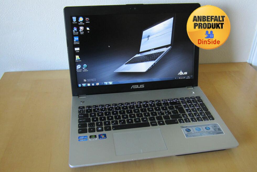 N56VZ er en av de beste PC-ene vi har hatt på testbenken i år. Den krones derfor med et fortjent Anbefalt-stempel. Foto: Alle bilder - Bjørn Eirik Loftås