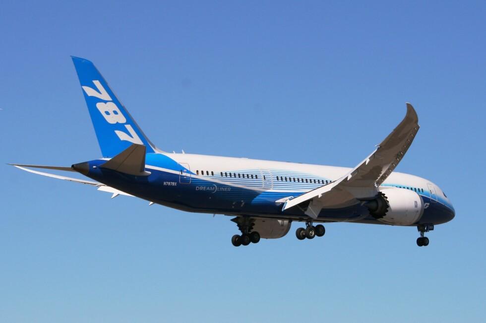 DREAMLINER TIL GRAN CANARIA? Norwegian har foreløpig ingen konkrete planer om å erstatte Boeing 737-800 med Dreamliner. Foto: Per Tandberg, www.sol.no