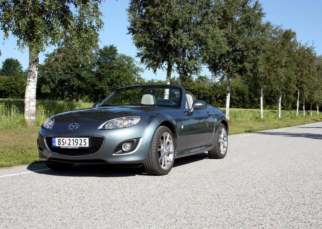 Dagens Mazda MX-5 Foto: Knut Moberg