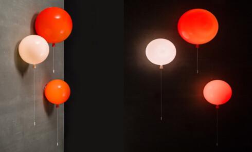 Memory light fås som både taklampe og vegglampe. Foto: Produsenten