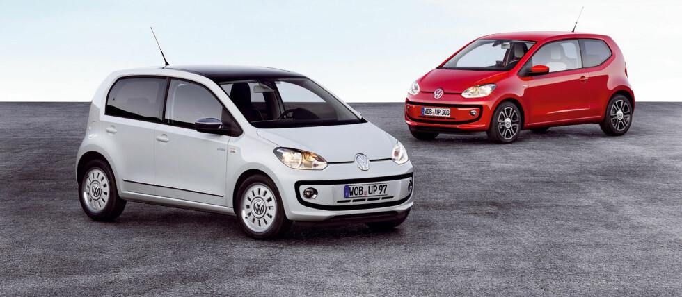 Volkswagen up! er en spennende nyhet i den minste og billigste bilklassen