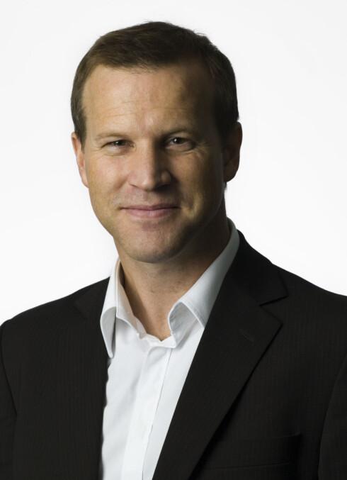 Anders Krokan er informasjonssjef i Telenor. Foto: TELENOR