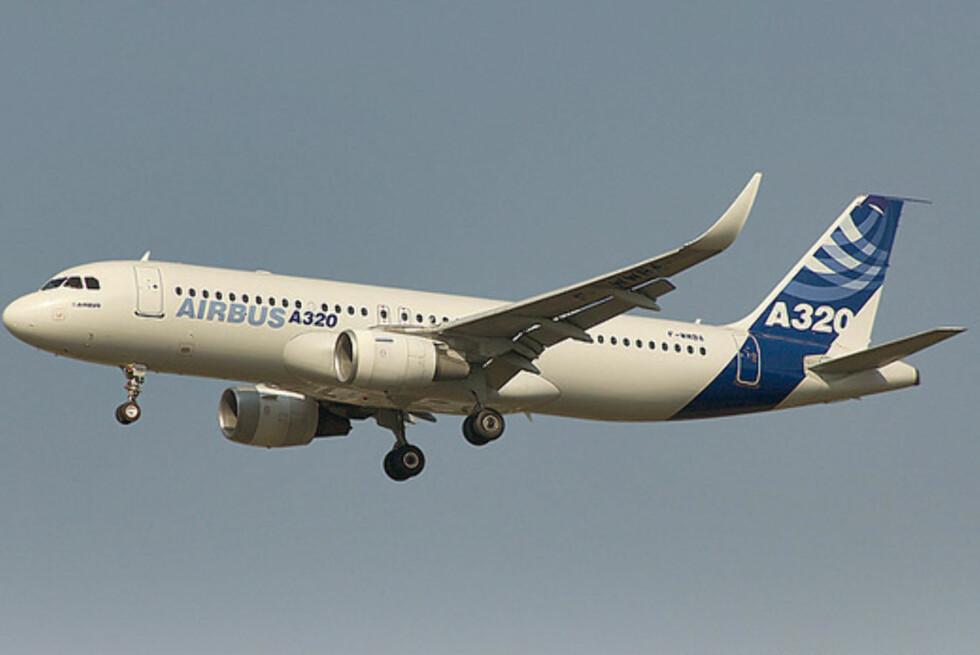 GREIT Å VÆRE TJUKK: Airbus tilbyr bredere seter i midtgangen på A320-fly.  Foto: Airbus