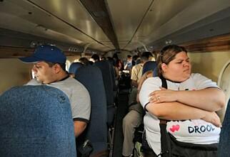 A320 med tjukkas-seter