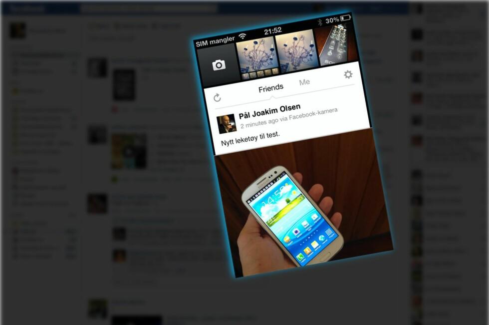 Facebook Camera er en frittstående foto-app fra Facebook.