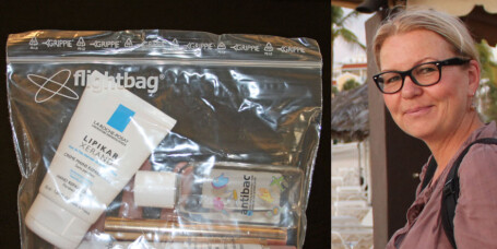 Nektet Mai-Britt å bruke OSL-plastpose