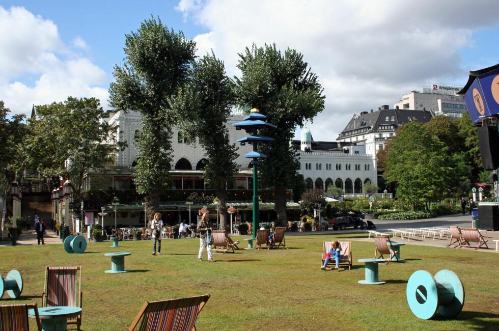 TURISTFAVORITT: Tivoli er den mest populære attraksjonen i Danmark.  Foto: Silje Ulveseth