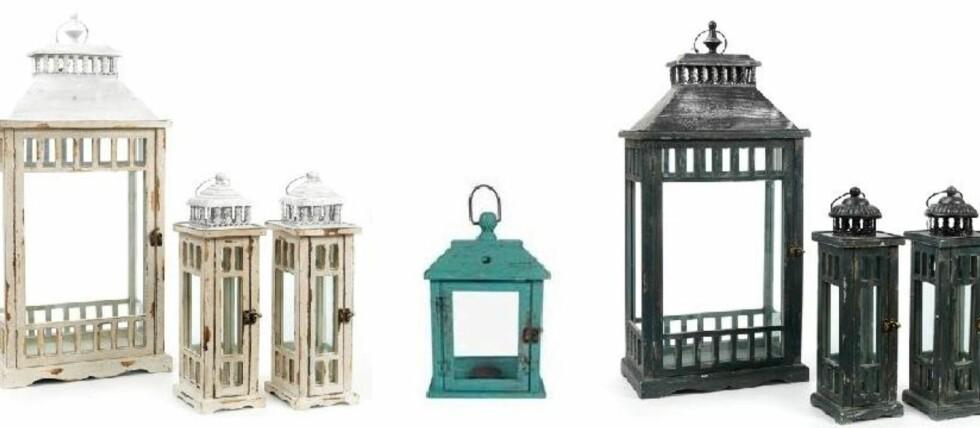 BRANNFARE: Disse lanternene/lyslyktene tilbakekalles på grunn av fare for brann. Foto: DSB