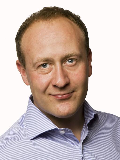 Kommunikasjonsdirektør i Netcom, Øyvind Vederhus, har fokus på svartid. Foto: Netcom