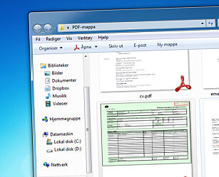 image: Forhåndsvis PDF-filer i Windows