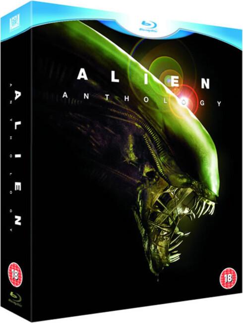SÅ RIMELIG HAR DET BLITT: Denne Blu-ray-boksen med alle Alien-filmene koster nå rundt 100 kroner. Det er eksepsjonelt billig sammenliknet med bare få år siden.