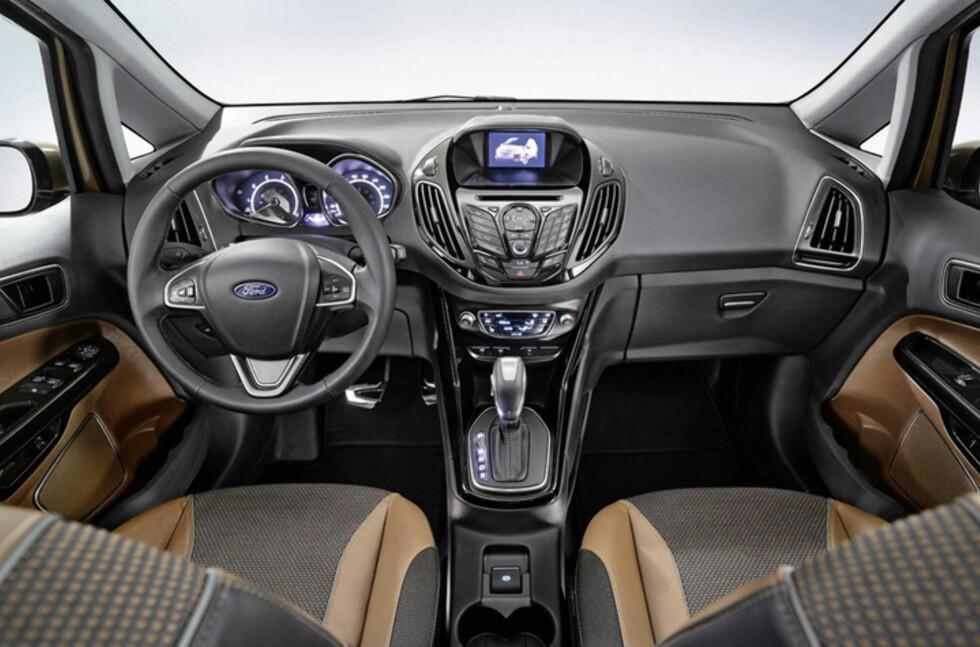 Ford B-MAX blir den første modellen som får Ford Sync i Norge. Foto: Produsent