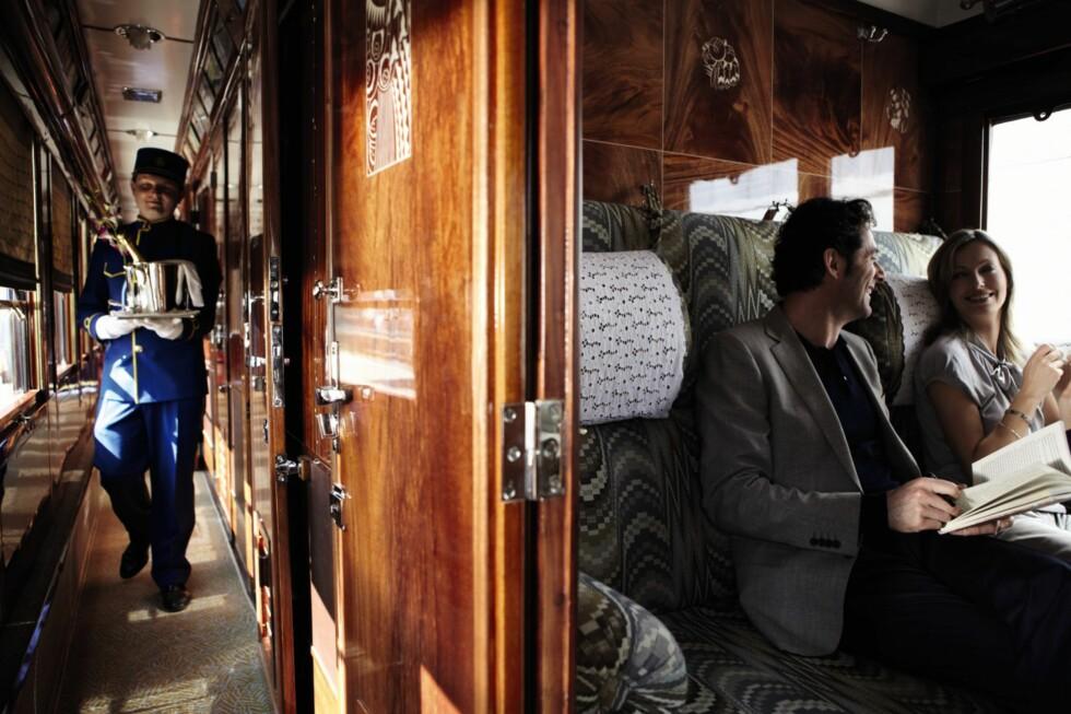 ORIENTEKSPRESSEN KOMMER TIL STOCKHOLM: Det er første gang i historien at du kan reise med Orientekspressen fra Stockholm.  Foto: Orient-Express