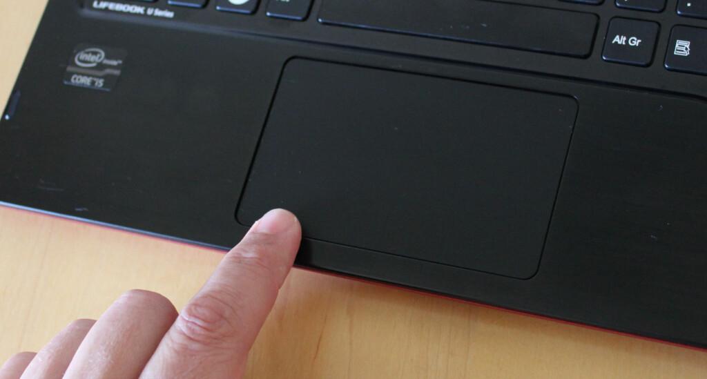image: Fujitsu Lifebook U772