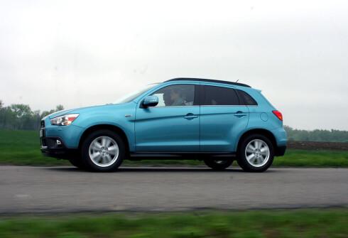 Mitsubishi solgte 1.402 ASX frem til 1. mai i fjor. I år er tallet nær halvert.   Foto: Knut Moberg