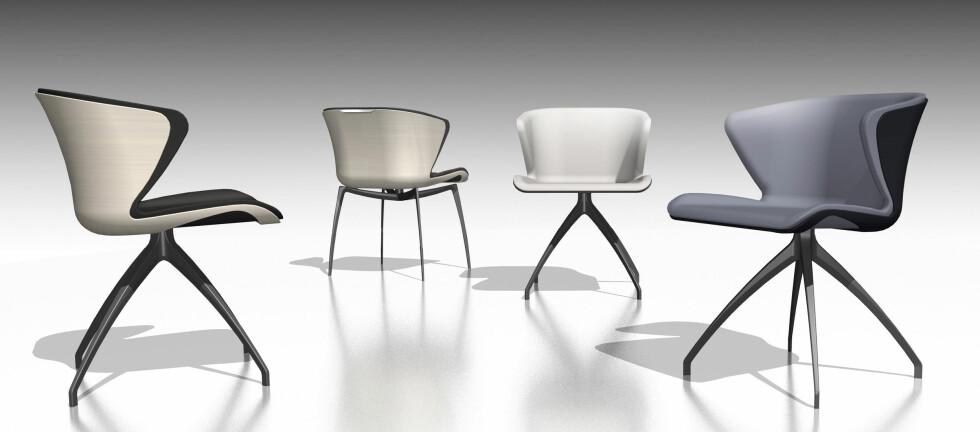 MERCEDES-BENZ LAGER MØBLER: Bilprodusenten Mercedes-Benz lanserer en serie med møbler, i samarbeide med det italienske møbelhuset Formitalia. Foto: Mercedes-Benz