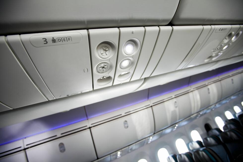 Legg merke til det fine LED-lyset. Lyset kan lage soloppgang, solnedgang eller andre fargenyanser. Foto: Per Ervland
