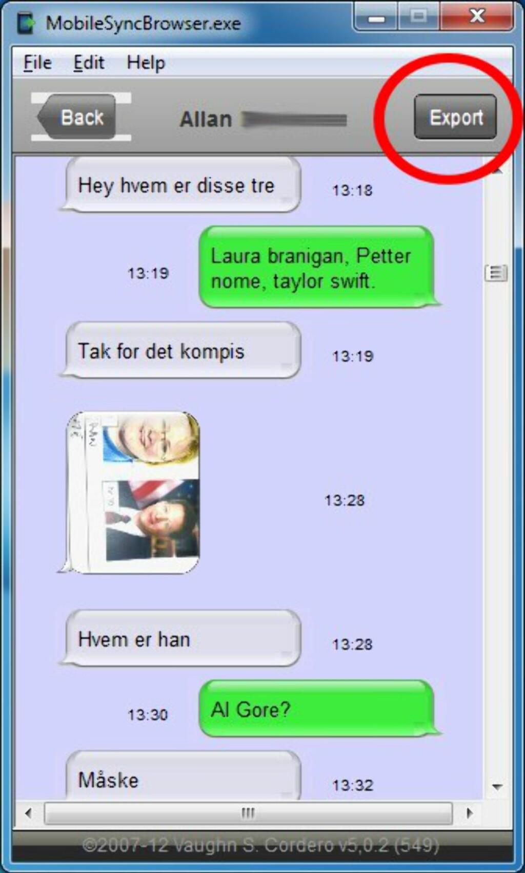 image: MobileSyncBrowser - ta vare på iPhone-meldingene