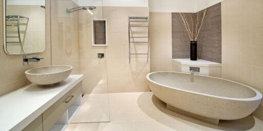 image: Ikke la deg lure av nytt bad