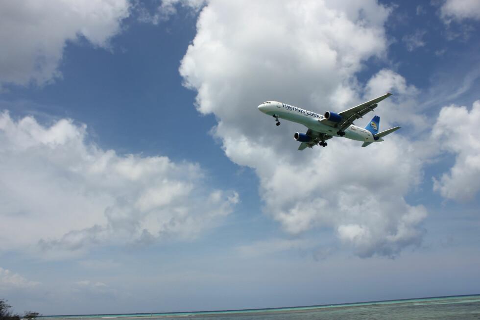 Thomas Cook vil fly Vings passasjerer fra Oslo til Aruba. Turen tar cirka 11 timer. Foto: Silje Ulveseth