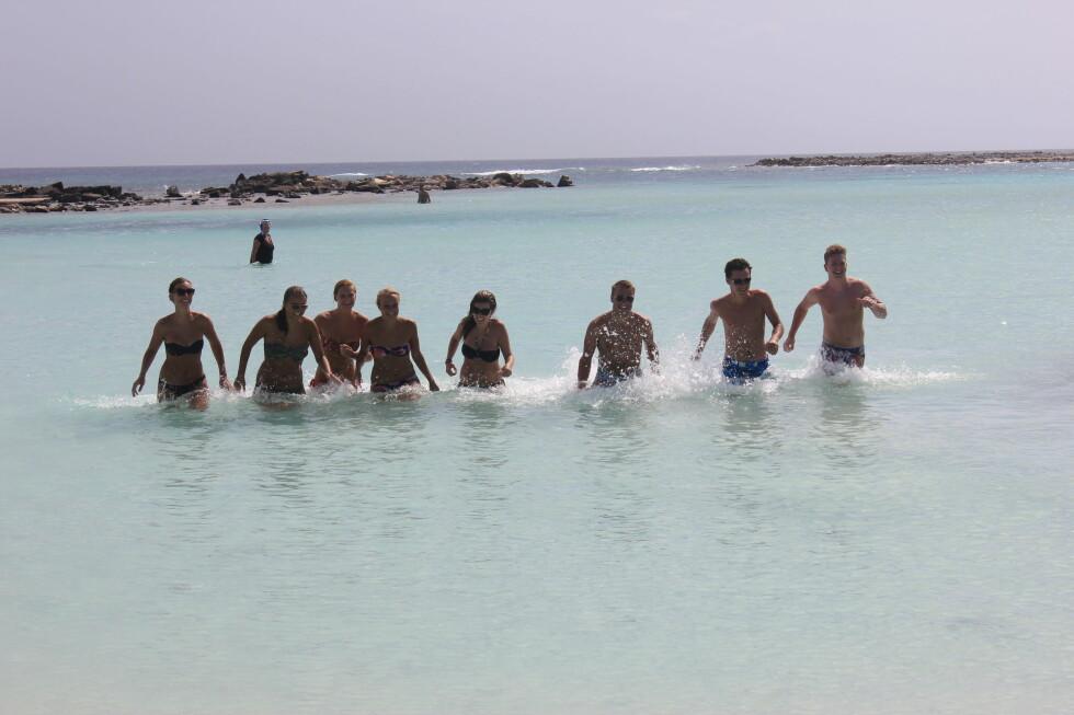 FRISTENDE? I februar begynte Ving å selge reiser til Aruba. Sophie Frisholm i Ving forteller at salget strømmer på, men påpeker at det fortsatt er en stund til desember. - Normalt øker salget etter sommerferien, sier PR-manageren.  Foto: Silje Ulveseth