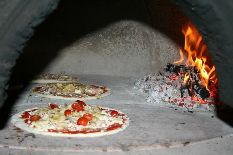 ITALIA PÅ TOPP: Tydeligvis er det pizza og pasta nordmenn drømmer om når de reiser på ferie.  Foto: Elin Fugelsnes