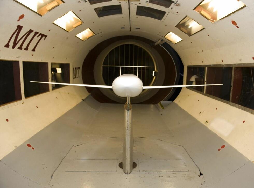 Vindtunnel Foto: NASA/MIT
